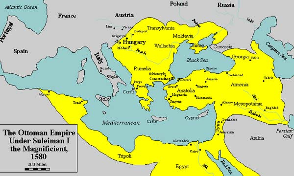 Revived Roman Empire Map.The Theory Of The Muslim Antichrist By S R Shearer