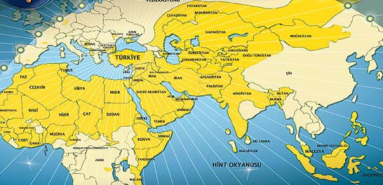 Islamic Caliphate Map Islamic Caliphate Map